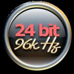 24bit 96KHz