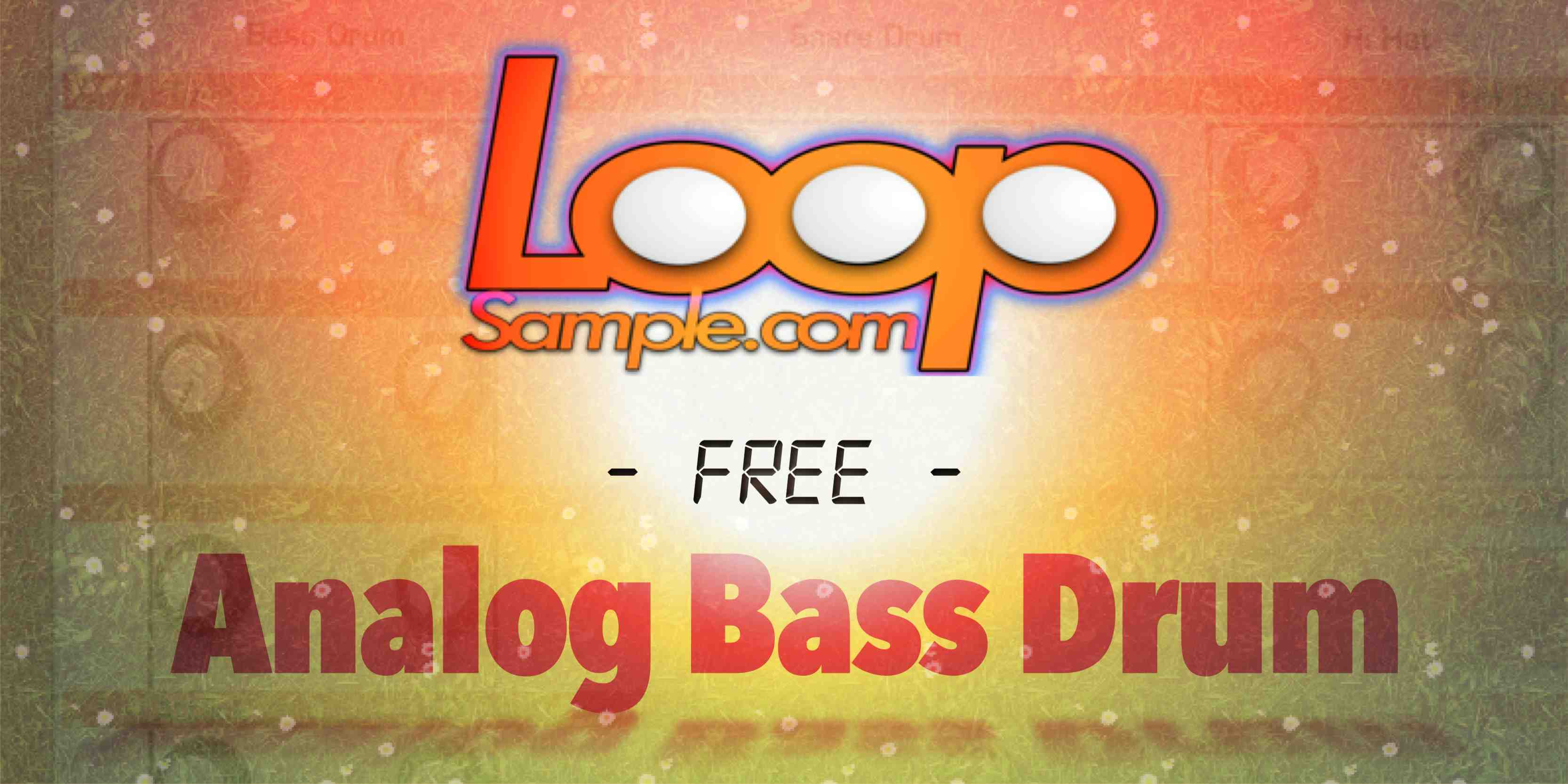 Free Analog Bass Drum