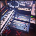 808 x 2 @ my room today #loopsample……