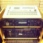 A happy reunion of my TR707 & SVC-350 vocoder. #loopsample……