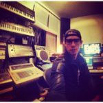 DJ Michael Prado in my studio #loopsample……