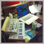 Final editing for the show tomorrow night @Sa Ding Ding concert HK #loopsample…..
