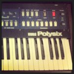 Fixing my old polysix on Saturday night. #loopsample……