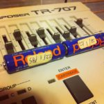 Found these 30 yrs old Roland battery inside the 707 #loopsample……
