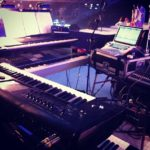 My Setup for the live show today #loopsample……
