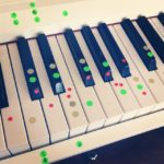 My boy's self invented music system for piano, he said now he can play Mozart wi…