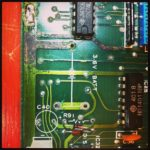 Old Battery removed + a new diode #loopsample……