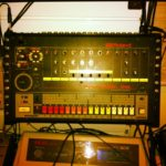 The TR-808 modification is done! #loopsample……