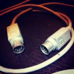 Treasure from my closet: Midi cable made by Apple Inc. during 80's #loopsample…..