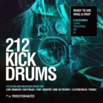 Production Master 212 Kick drums vol.1_COVERb
