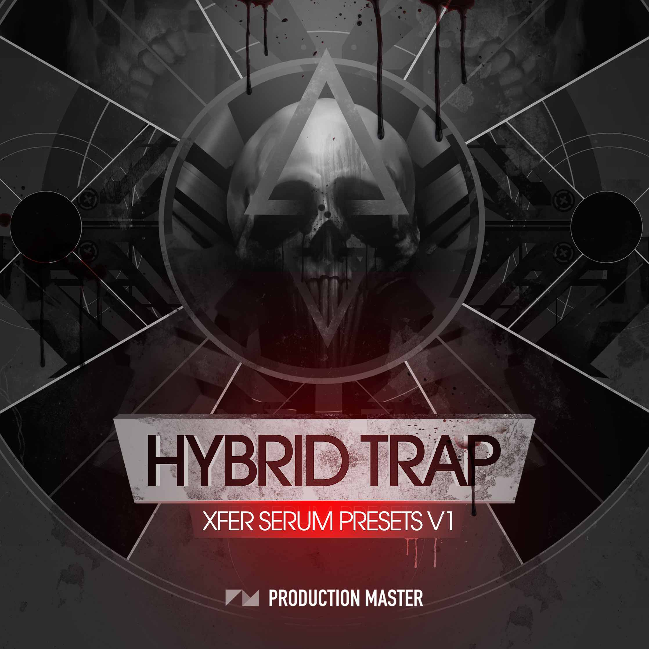 Production Master Hybrid Trap Serum Presets vol.1 COVERb